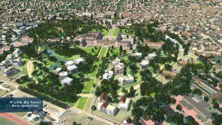 Ecoquartier Parc Princesse au Vésinet (visite en temps réel)